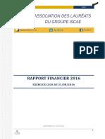 Alisca - Rapport Financier Au_ 31-08-2016 V1