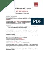 Bases Convocatoria ALJARAFE III OCT. 2019 Recién Titulados