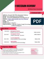 CV1.6 - Python Data Scientists