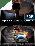 Hocal Pipe Industries - ¿Qué es la orimulsión?