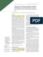 Infecciones en los niños quemados análisis epidemiológico y de los factores de riesgo