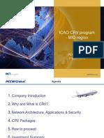 ICAO CRV Programme