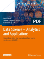 Data Science - Analytics and Applications Proceedings of the 2nd International Data Science Conference - IDSC2019