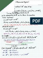Espacio vectorial en Rn
