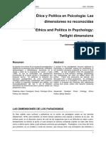 Ética y Política MMontero