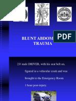 Blunt Abdominal Injury - Module