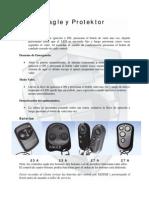 Alarma Eagle y Protektor Resumen de Uso, Alarma Eagle y Protektor