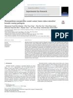 2019 Las Lentes de Contacto Recubiertas Con Nanopartículas de Fotopsopsina Reducen La Queratitis Microbiana Que Causa Patógenos