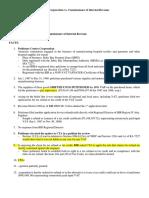 Contex Corporation vs. Commissioner of Internal Revenue DIGEST
