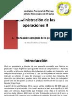 Administración de Operaciones II Material de Clase Unidad 1