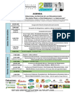 AGENDA II Congreso Ecosol Para Sostenibilidad e Innovacion