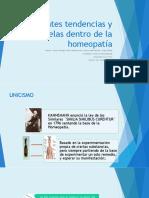 Diferentes Tendencias y Escuelas Dentro de La Homeopatía
