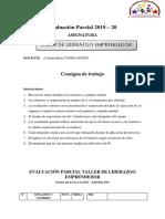 Evaluación Parcial 2019-20 Avanzado