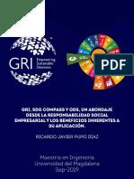 Gri, Sdg Compass y Ods, Un Abordaje Desde La Responsabilidad Social Empresarial y Los Beneficios Inherentes a Su Aplicación.
