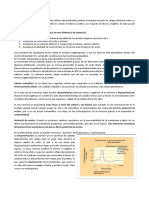 Potencial de Membrana en Reposo y de Acción.