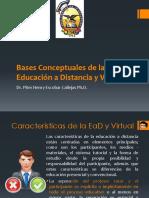 Bases Conceptuales de La EaD y V