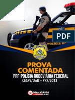 Prova Comentada PRF Completo