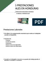 Las Prestaciones Laborales en Honduras