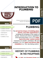 Wk2 Pt Lecture Guide Introduction to Plumbing