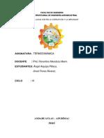 Informe de Termodinamica 1..
