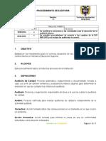 Gmc Prd 03 Procedimiento Auditoria