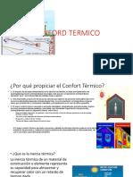conford termico arquitectura