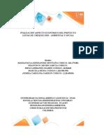 Plantilla Excel Evaluación Aspecto Económico Del Proyecto _Listas Chequeos RSE Ambiental y Social_ Grupo614