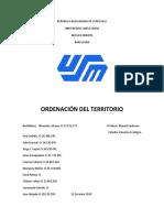 Informe Derecho Ecologico
