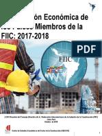 Evolucion Economica de Los Paises Miembros de La FIIC 2017-2018 Completo