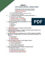 Preguntas de Examen Psicologia Social