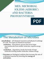 Microbial Metablism