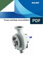 Sns Single Stage Centrifugal Pumps e10333