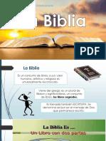 taller sobre la biblia