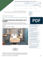 La Higiene Del Entorno Del Paciente en El Hospital