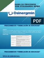 Diagrama 04 Procesos Operativos Utilizando BPMN