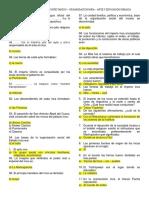 Cuestionario de 2do CC.ss
