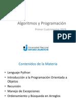 AyP - Presentacion 2019