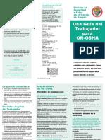Guia Para El Trabajador or-OSHA