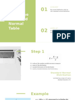 Using the Standard Normal Table (2)