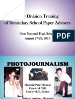 2019 DIVISION PHOTOJOURNALISM TRAINING - FINAL 2.pptx