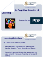 Cognitive Approaches to Learning Powerpoint