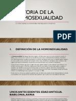 Historia de La Homosexualidad