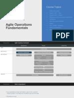 Agile Operations Fundamentals