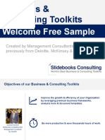 Business Consulting Toolkits Welcome Free Sample