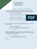 1_Guía de Ejercicios Usando Arreglos Unidimensionales