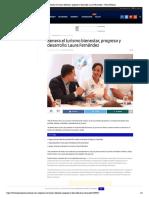 Genera el turismo bienestar, progreso y desarrollo_ Laura Fernández