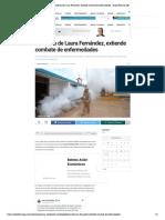 Gobierno de Laura Fernández, extiende combate de enfermedades - Radio Fórmula QR