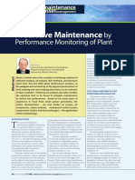 2.-Predictive Maintenance by Performance Monitoring of Plantparameters