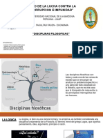 DISCIPLINAS FILOSOFICAS TERMINADAS