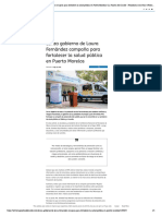 Lanza gobierno de Laura Fernández campaña para fortalecer la salud pública en Puerto Morelos _ La Palabra del Caribe - Periodismo con ética _ Noticias de Quintana Roo